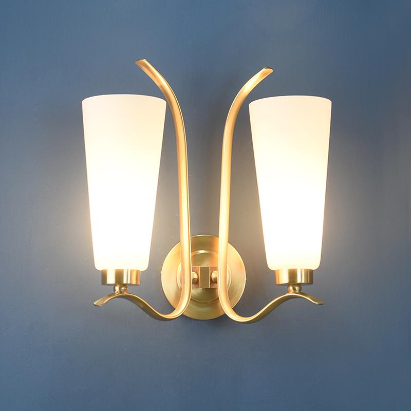 铜灯壁灯客厅