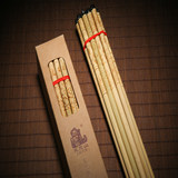 Hangzhou Tianzhu chopsticks West Lake Meilou Building exterior tableware Bamboo chopsticks high-grade natural paint-free wax-free 8 pairs