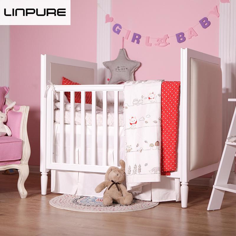 蓝铂 猫咪 婴幼儿床品多件套 纯棉床上用品
