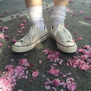全民瘋搶ulzzang帆布鞋街拍學生小白鞋復古情侶運動鞋女經典板鞋