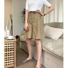 Osah Eli's summer new 100 sets of slim overalls, pants, wide legs, shorts, high waist, loose and casual five-minute pants