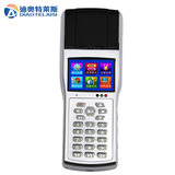 Diotes wireless handheld mobile membership card to send meal canteen credit card machine meal card machine sale machine IC card recharge count consumer machine toll machine with printing small ticket credit card machine system