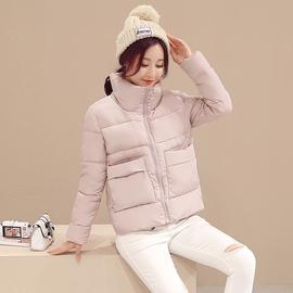 米雅诺棉衣女2018新款韩版冬小棉袄女士短款羽绒棉服面包服外套女图片