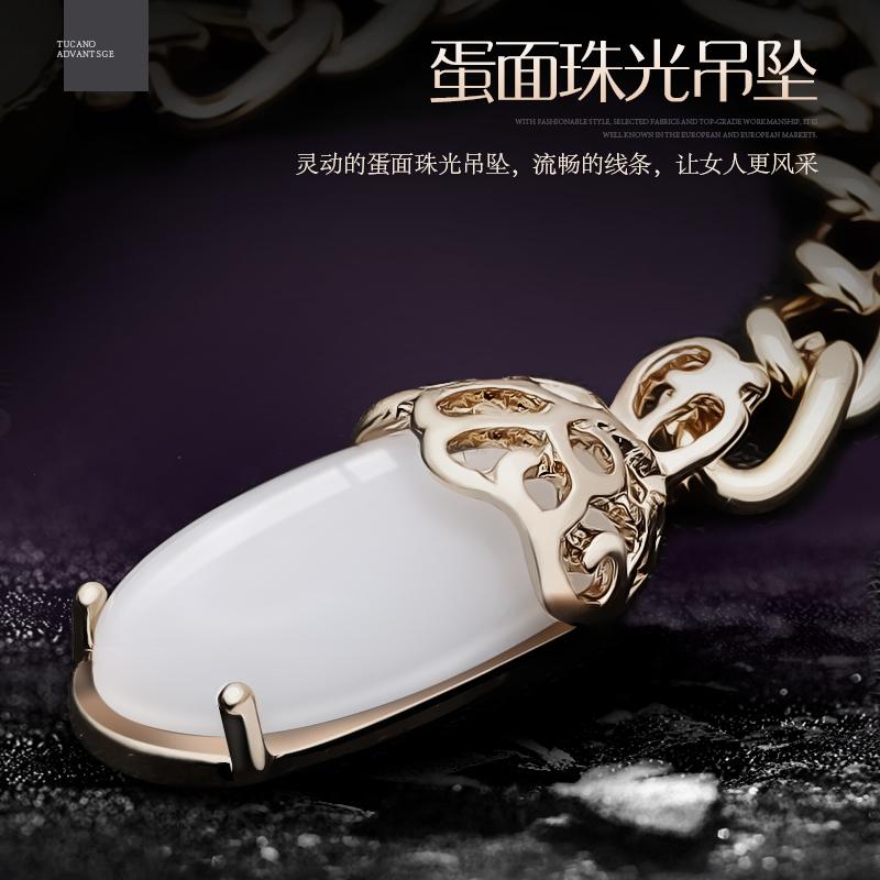 啄木鸟钱包女士拉链真皮手包韩版时尚新款吊坠拉链大容量牛皮钱包