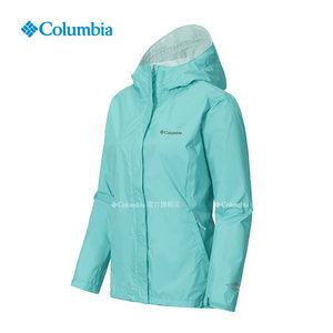 【经典款】Columbia哥伦比亚户外春夏女款防水可收纳冲锋衣RR2436
