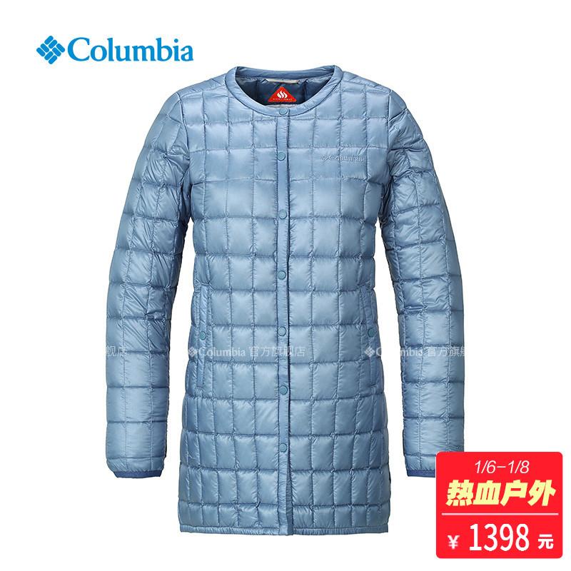 Columbia/哥伦比亚户外18秋冬新女热能保暖700蓬羽绒服PL5265