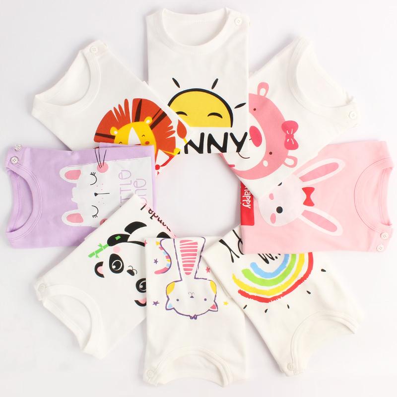 女童长袖T恤秋季宝宝长袖秋衣纯棉上衣夏男儿童打底衫小童婴儿春