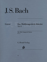 正版 包邮 十二平均律 德国亨乐出版集团 br. 卷一 G.Henle Verlag 亨乐原版classical Klavier Bach Wohltemp. 巴赫