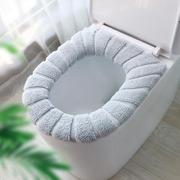 2 loaded toilet seat cushion home Nordic universal toilet seat toilet seat toilet seat cushion plus velvet toilet stickers