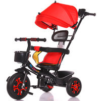 Children's tricycle bicycle 1-3-2-6 years old large children's car baby infant 3 wheelbarrow bicycle
