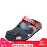 SHOEBOX/鞋柜夏季新款防滑软木底凉拖鞋包头沙滩男鞋1116313155