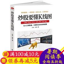 正版炒股要懂K线图入门级股票投资理财读本快速掌握K线分析之道K线跟庄实用战法九章xsl