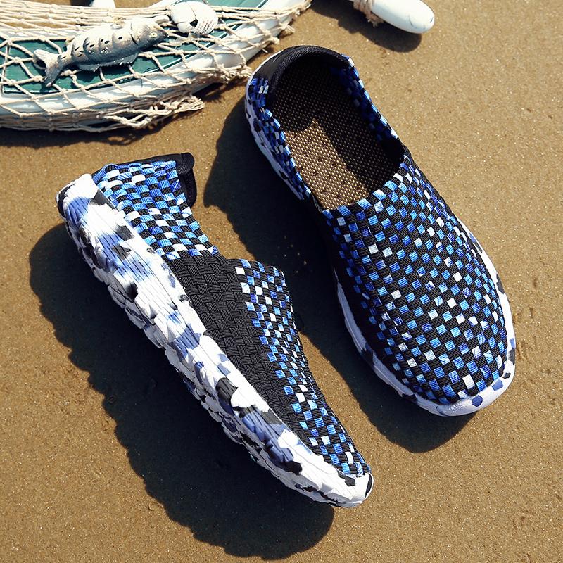 潮流编织鞋