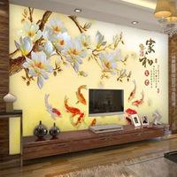 电视背景墙壁纸客厅3d墙纸卧室影视墙装饰无缝墙布5d立体凹凸壁画