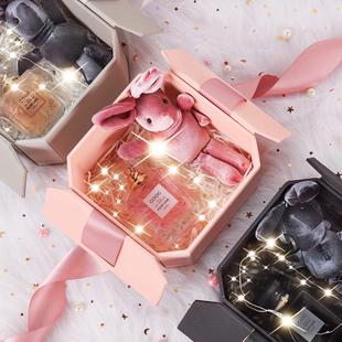 礼物盒伴手礼盒INS精美韩版 大小号女生日口红礼品盒包装 盒空盒子