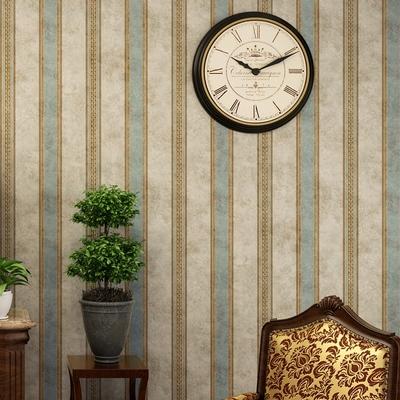 美式复古条纹壁纸