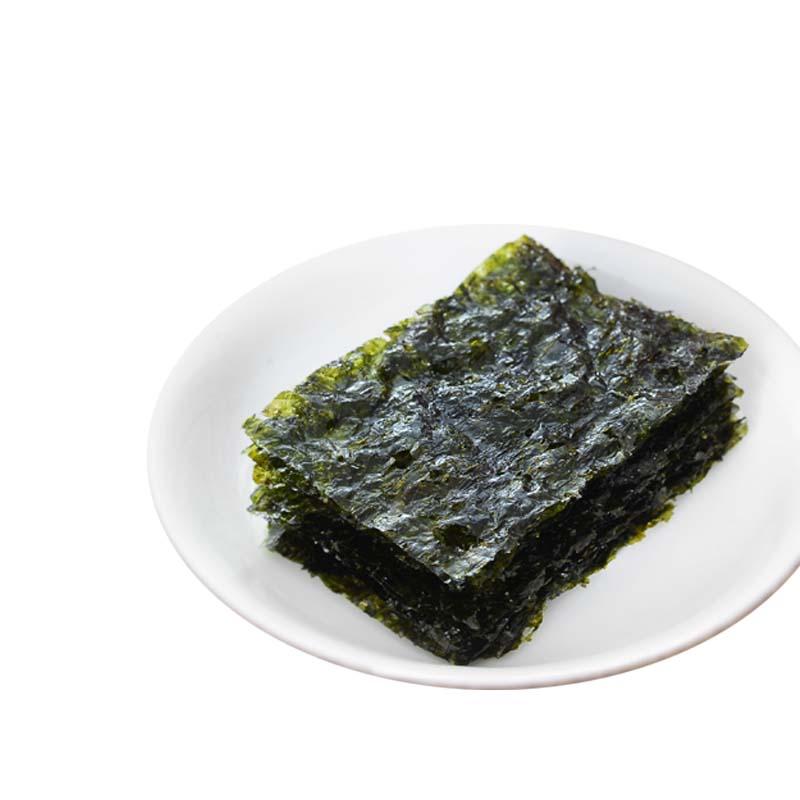 包即食海苔儿童海苔寿司整箱零食小吃批发 54 1.5g 波力海苔原味