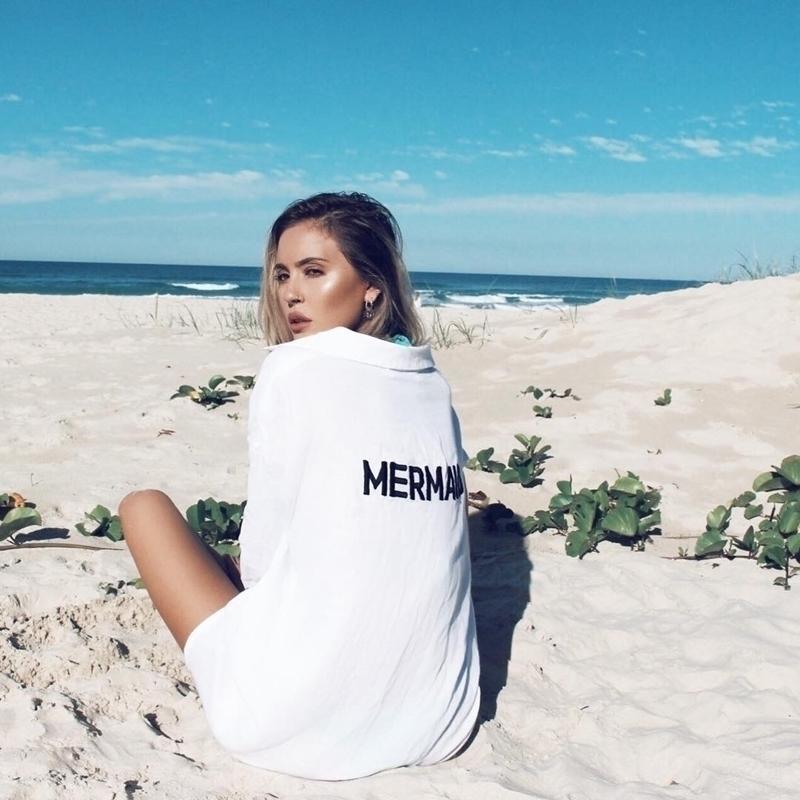 长袖衣沙滩衣