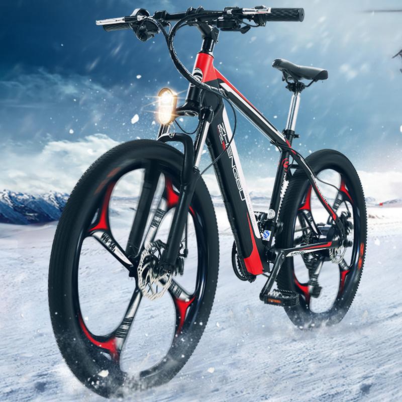 正步 2018新款电动山地车 新国标电动自行车代步车小型电瓶车单车