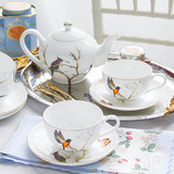 English afternoon tea Tea Set Continental Bone china coffee cup and saucer tea cup coffee ceramic household gifts