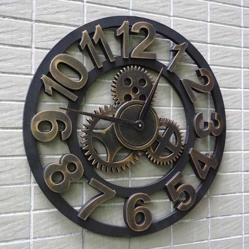 客厅钟表loft