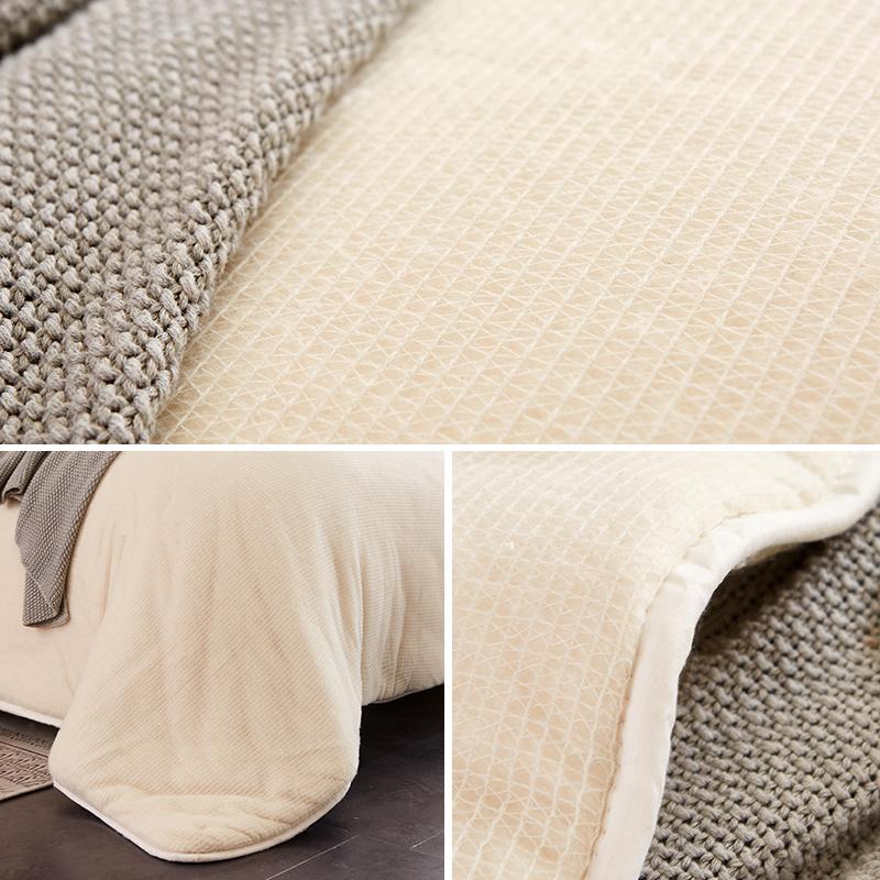 南极人新疆棉被棉絮棉花被芯棉胎学生床垫被褥子加厚被子冬被全棉