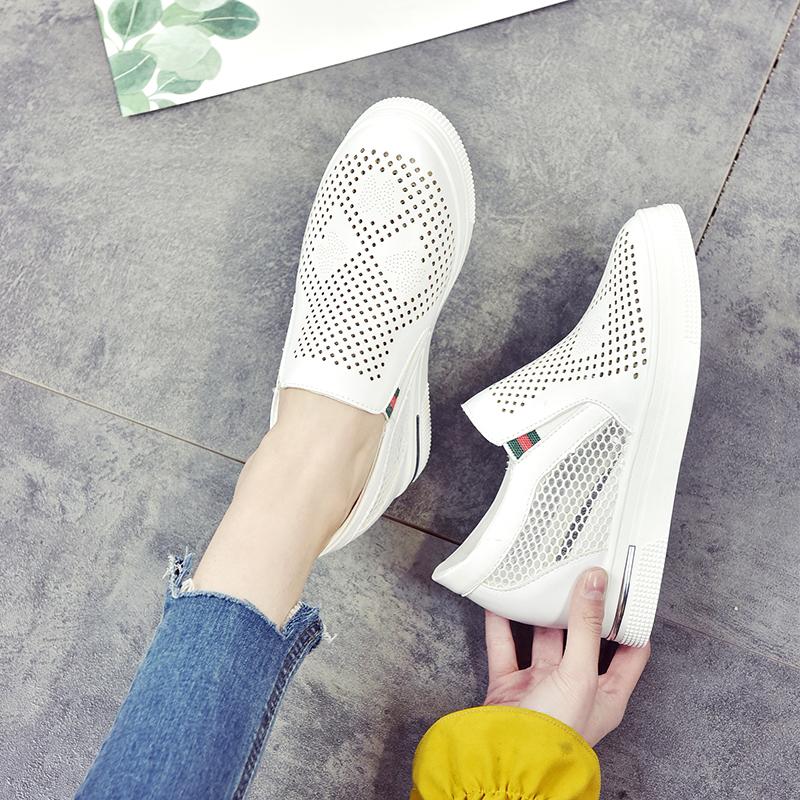 夏款黑白色女鞋