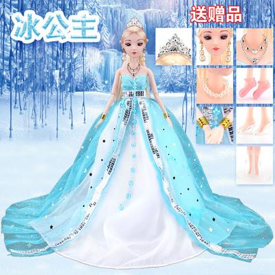 克时帝芭比换装中国古装古代洋娃娃套装大礼盒婚纱女孩玩具礼物