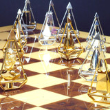 Charles Hollander Collection Royal Diamond Chess Customized