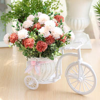 Simulation float set home decorations small ornaments plastic floral fake flower living room table decoration plastic silk flower
