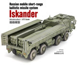 搜模阁 AS72126 1/72 Russia Iskander-M type tactical missile ballistic missile