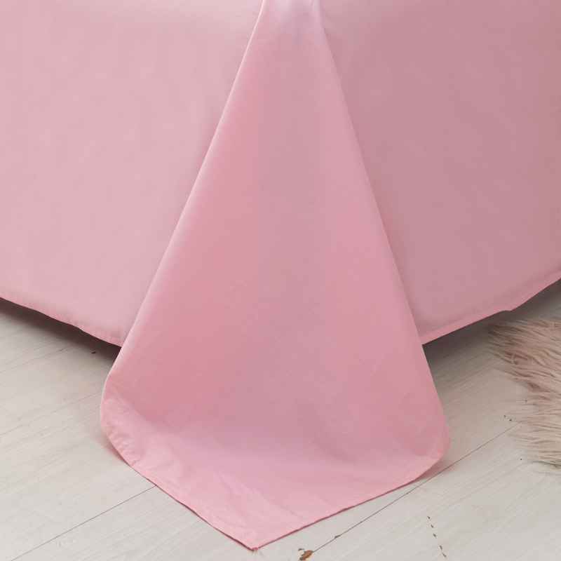 纯棉床单单件全棉布料加厚单人双人1.5米1.8 2.0m床学生宿舍儿童