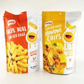 水果干休闲小吃 蛋黄卷60g 趣蜜咸蛋黄味香蕉片 泰国进口零食品