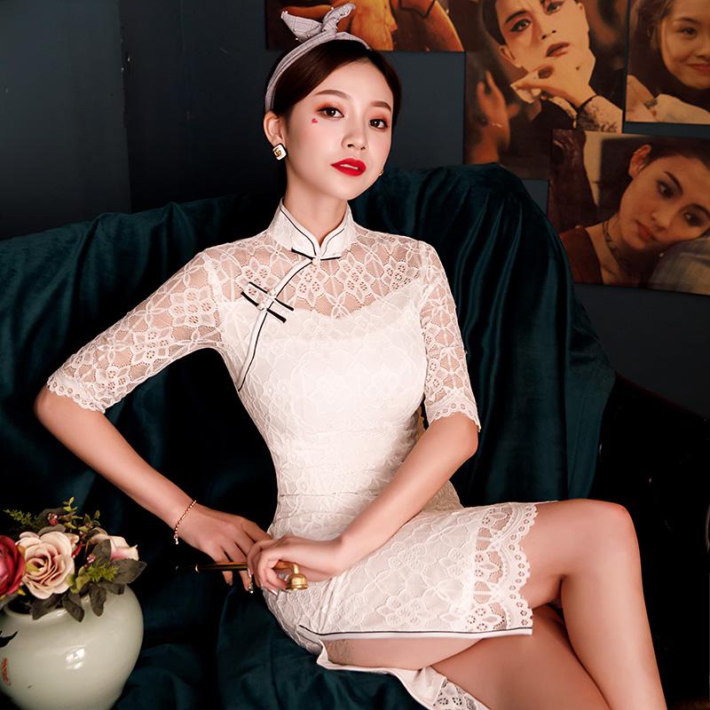 俏美尔QME125旗袍