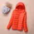 轻薄羽绒服女短款立领连帽时尚韩版修身秋冬大码女装外套反季促销