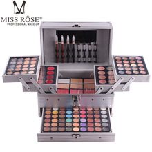 Cosmetic Bag Makeup Artist special makeup box, eye shadow plate, gill red disc, powder tray, red plate, hot dish, beginner's artifact.