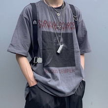 Survival Source 19ss New Assassination Short-sleeved INS with Loose Hip-hop Hip-hop Trend for Men and Women