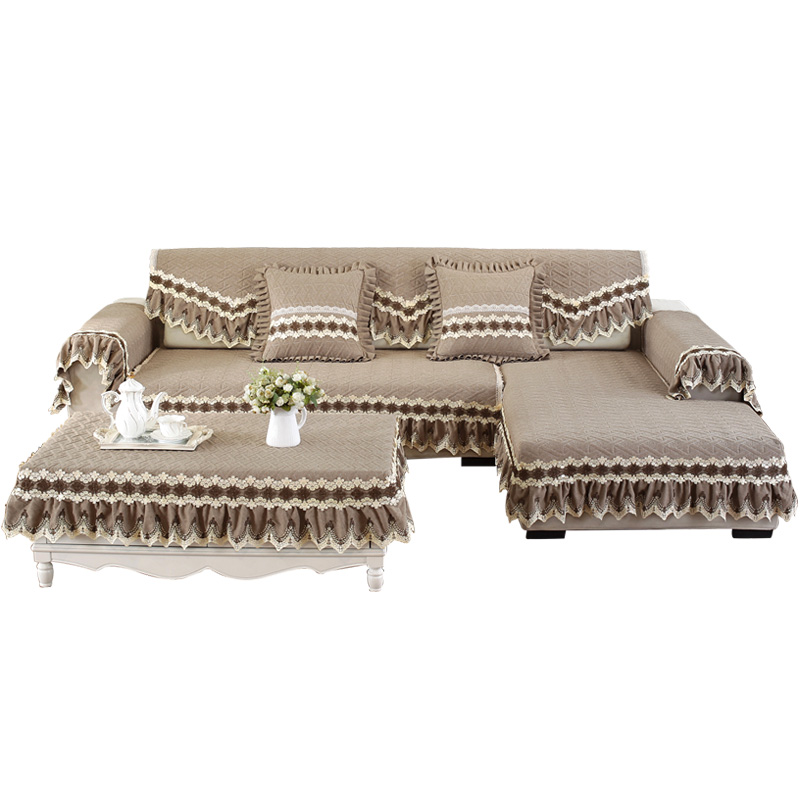三只羊布艺沙发垫007