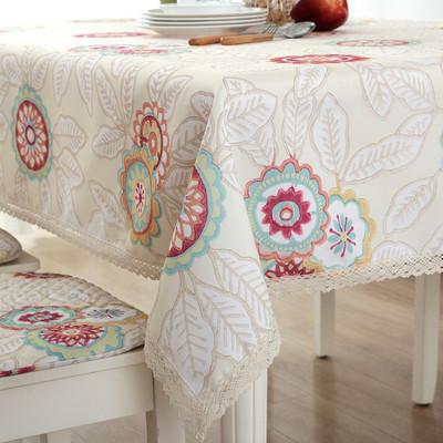 棉麻餐桌布哪个品牌好