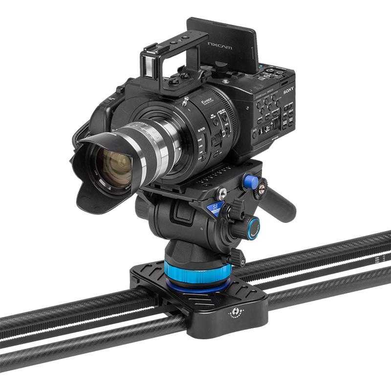 摄像机滑轨百诺C12/C08单反相机电动导轨5D4摄影摄像无线电控轨道