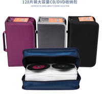 96-piece home CD package Large-capacity canvas CD package DVD storage box Car disc box CD package