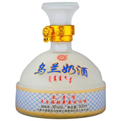 内蒙古草原特产  乌兰奶酒 16度500ml鲜马奶酒包邮