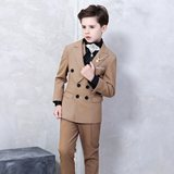 Inmyopinion 2018 new boy catwalk suit big children piano costumes British hosted suit