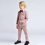 Inmyopinion 2019 new pink boy suit flower girl dress children catwalk set hosted performance