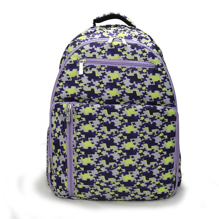 妈咪包母婴包双肩妈妈包多功能大容量外出宝妈背包时尚书包