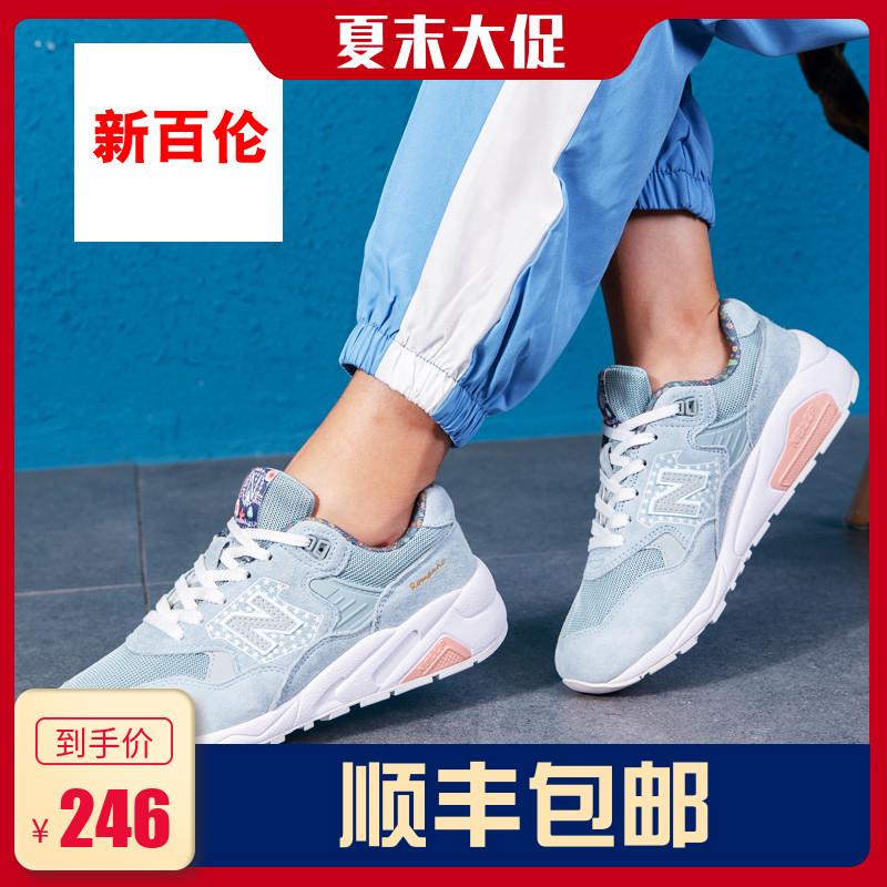 新百伦女鞋999樱花系列580街拍运动鞋女2019新款夏季跑步鞋男鞋潮
