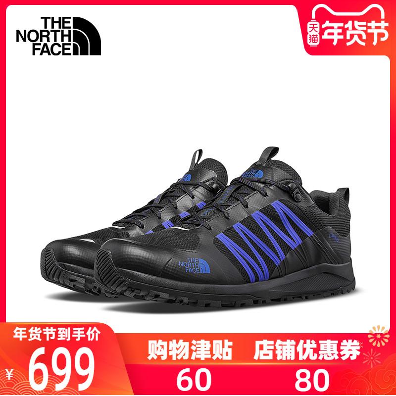 TheNorthFace北面徒步鞋男户外抓地防水抓地跑步鞋登山鞋469T