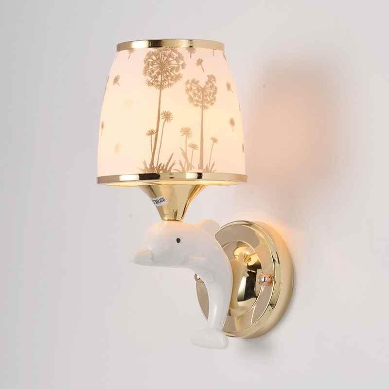 卧室新款见描述其他海外地区le床头灯儿童房间墙壁灯过道灯具楼梯
