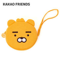 KAKAO FRIENDS cartoon coin purse cute expression Korean version of Apeach fart peach mini coin storage bag