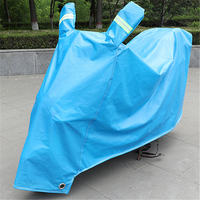 Pedal electric motorcycle sun protection cover battery car wind and rain waterproof cover poncho clothing summer rain cover cover